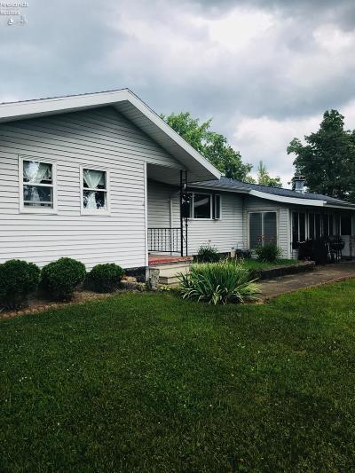 Sandusky Single Family Home For Sale: 2917 Harris Road