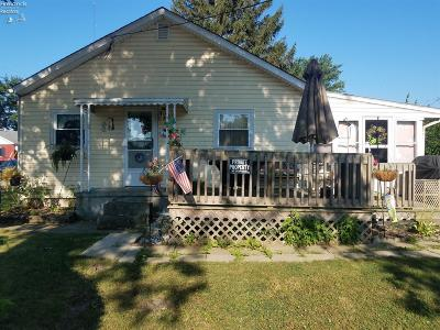 Port Clinton Single Family Home For Sale: 918 Maryland Street
