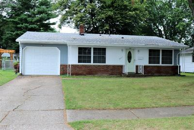 Sandusky OH Single Family Home For Sale: $113,000