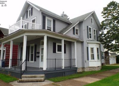 Sandusky Single Family Home For Sale: 816 Adams Street