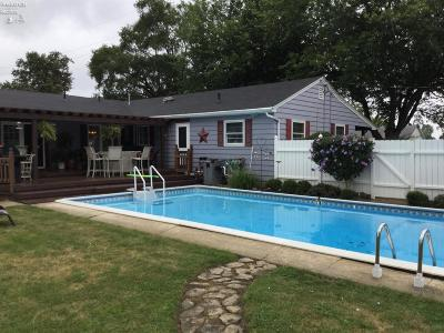Port Clinton Single Family Home For Sale: 935 S Limestahl Road
