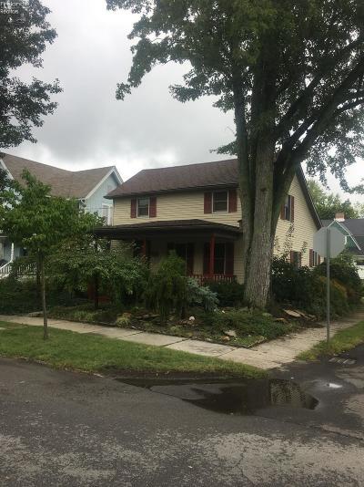 Norwalk Single Family Home For Sale: 34 Newton Street