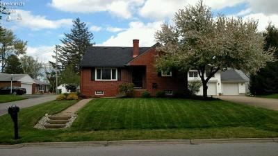 Huron OH Single Family Home For Sale: $161,900