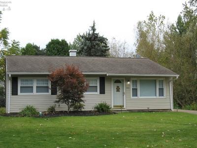 Sandusky Single Family Home For Sale: 616 Helina Drive