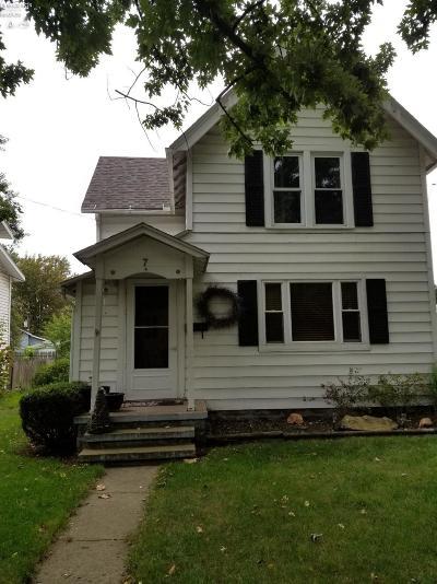 Norwalk Single Family Home For Sale: 7 E Washington Street