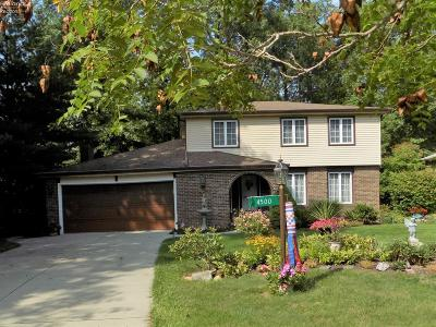 Vermilion Single Family Home For Sale: 4500 Mapleview Drive