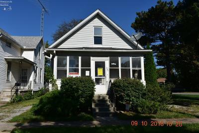 Sandusky Single Family Home For Sale: 507 Dewey Street