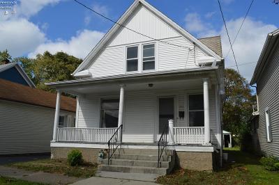 Sandusky Single Family Home For Sale: 521 E Jefferson Street