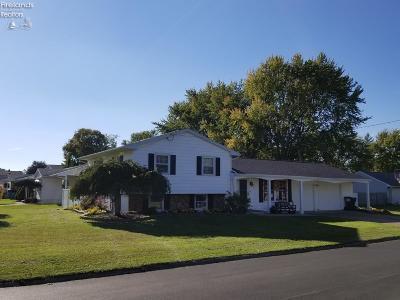 Sandusky Single Family Home For Sale: 3911 Hoffman Drive