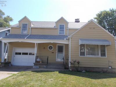 Port Clinton Single Family Home For Sale: 629 Jackson Drive