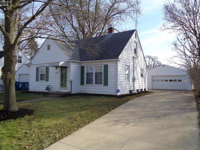 Sandusky Single Family Home For Sale: 118 Schiller Avenue