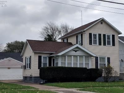 Port Clinton Single Family Home For Sale: 505 Madison Street