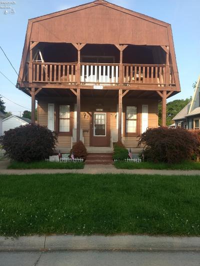 Sandusky Single Family Home For Sale: 1310 Putnam Street
