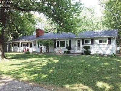 Sandusky Single Family Home For Sale: 2142 Potawatomi Trail
