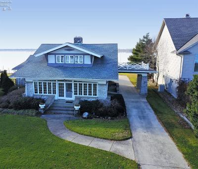 Sandusky Single Family Home For Sale: 915 Cedar Point Road