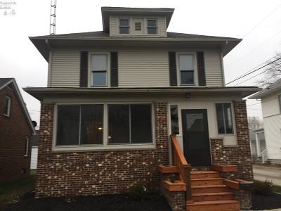 Port Clinton Single Family Home For Sale: 318 Monroe Street
