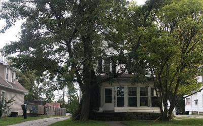 Huron Single Family Home For Sale: 419 W Cleveland Road