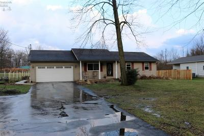 Berlin Heights OH Single Family Home For Sale: $187,500