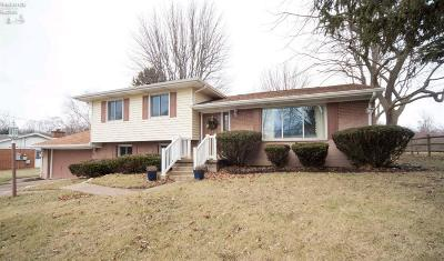 Port Clinton Single Family Home For Sale: 4411 E Linda Drive