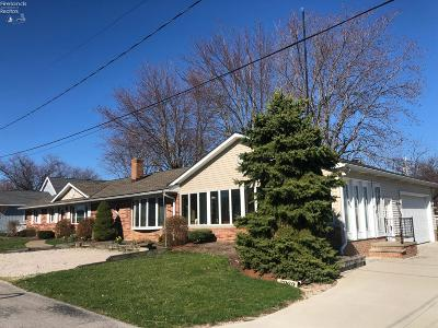 Port Clinton Single Family Home For Sale: 2969 N Mallard Drive