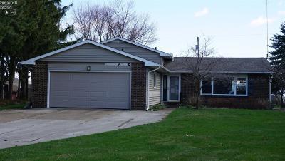 Sandusky Single Family Home For Sale: 2818 Mulberry Drive