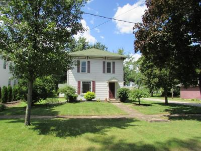 Milan Single Family Home For Sale: 33 W Front Street