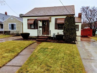 Sandusky Single Family Home For Sale: 1211 Sycamore Line