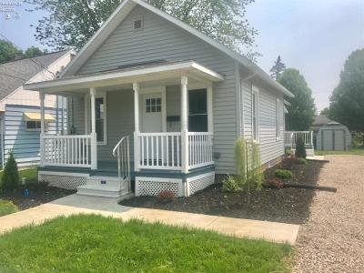 Port Clinton Single Family Home For Sale: 225 Linden Street