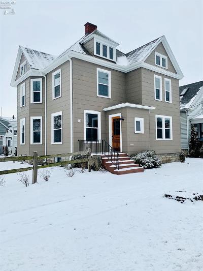 Sandusky Single Family Home For Sale: 413 W Monroe Street