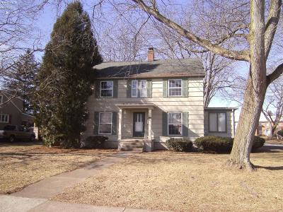 Sandusky Single Family Home For Sale: 1413 McKinley Street
