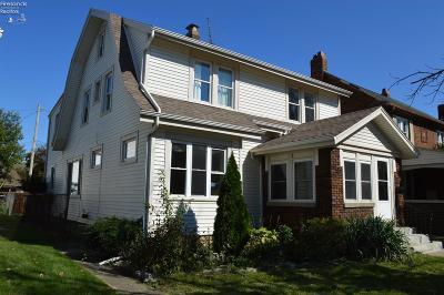 Sandusky Single Family Home For Sale: 1219 Cleveland Road