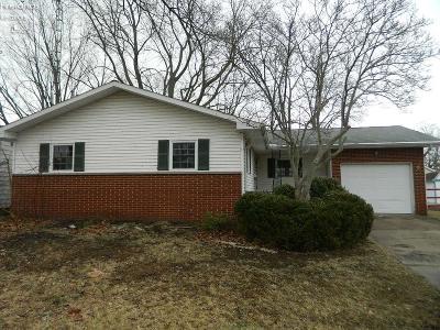 Sandusky Single Family Home For Sale: 1152 Alpine St