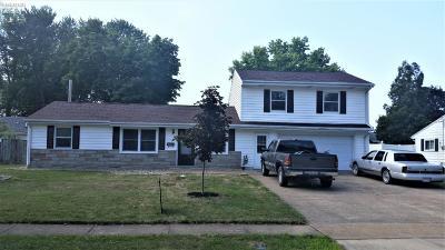 Sandusky Single Family Home For Sale: 909 Thorpe Drive