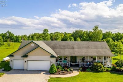 Port Clinton Single Family Home For Sale: 3830 West Lakeshore Drive