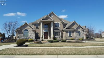 Sandusky Single Family Home For Sale: 3127 Alexandrias Drive