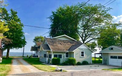 Port Clinton Single Family Home For Sale: 1296 S Dubbert Road