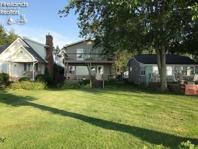 Port Clinton Single Family Home For Sale: 2227 E Sand Road