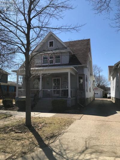 Sandusky Single Family Home For Sale: 1009 Wayne Street
