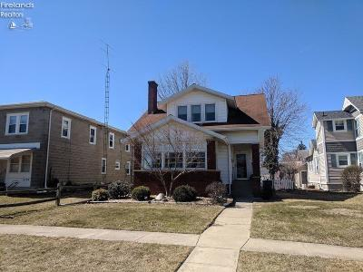 Port Clinton Single Family Home For Sale: 506 Madison Street