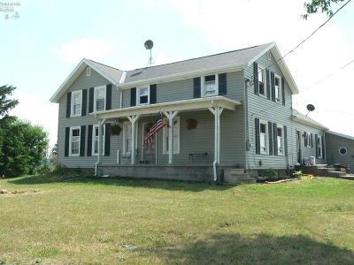 Norwalk Single Family Home For Sale: 1235 St Rt 250