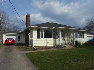 Sandusky Single Family Home For Sale: 2214 Stahlwood Drive