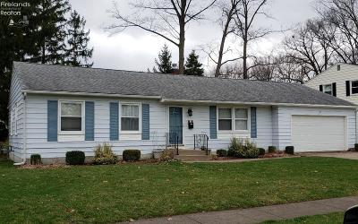 Huron OH Single Family Home For Sale: $134,000