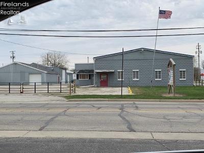 Port Clinton Commercial For Sale: 228 Buckeye Boulevard