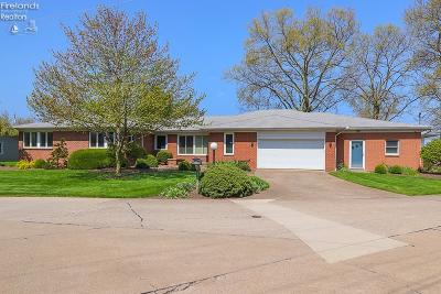 Sandusky Single Family Home For Sale: 1530 Willow Drive