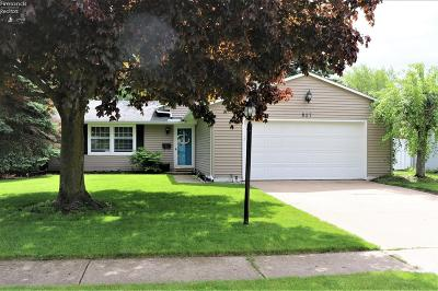 Huron Single Family Home For Sale: 827 Strowbridge Drive