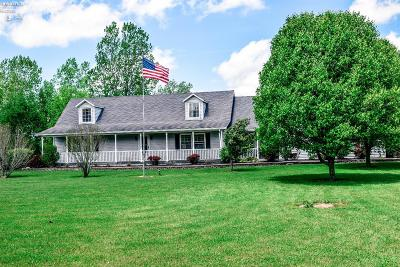 Port Clinton Single Family Home For Sale: 4987 W Fremont Road