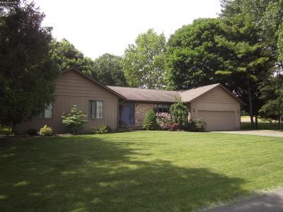 Sandusky Single Family Home For Sale: 2902 Valley Lane