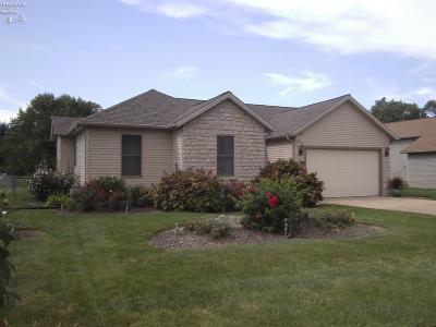 Sandusky Single Family Home For Sale: 462 Mill Pond Drive