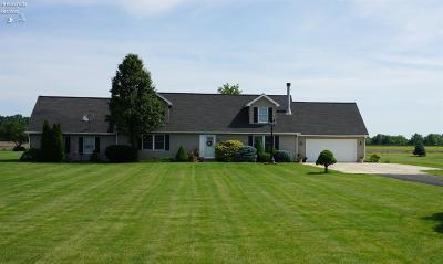 Milan Single Family Home For Sale: 1717 W Mason Road