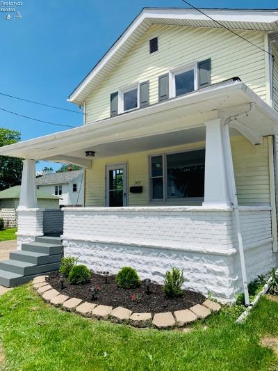 Sandusky Single Family Home For Sale: 1415 Monroe